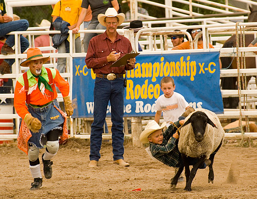 Pin rodeo they excel in lasso skills and stunt riding as photographed