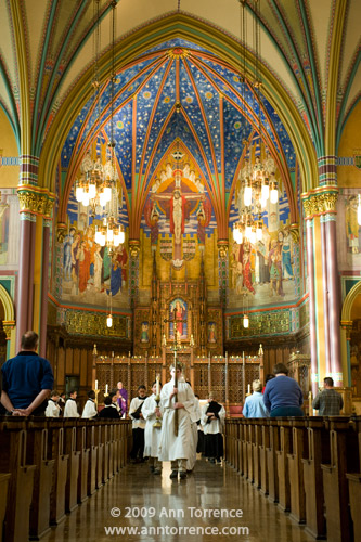 Recessional, Cathedral of the Madeleine, Salt Lake City