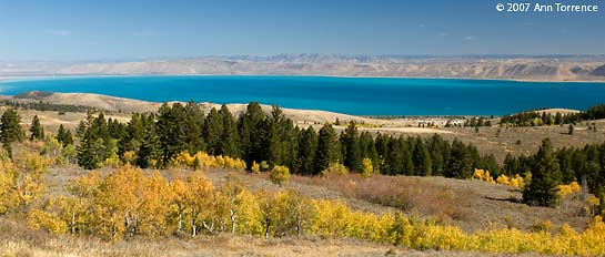 Bear Lake Utah Idaho autumn fall colors
