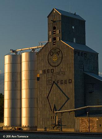 Grain Elevator, Choteau, Montana MT