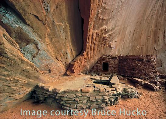 image by Bruce Hucko Defiance house anasazi ruin
