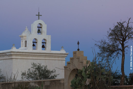 Chapel at San Xavier del Bac, Tucson Arizona