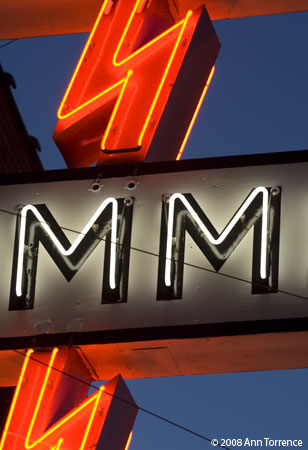 Summit Electric sign on 4th South, Salt Lake City