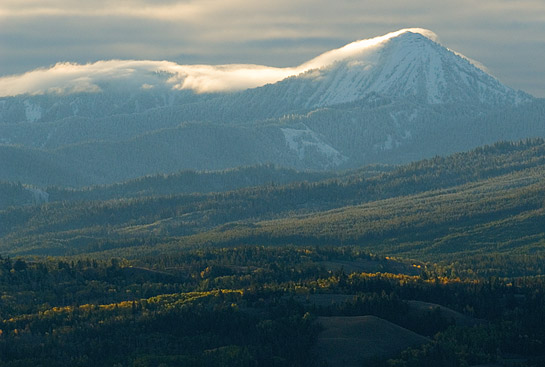Mt. Leidy - East of Grand Tetons National Park