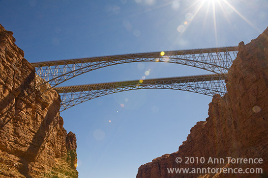 Marble Canyon Bridge Grand Canyon National Park Colorado River US89A