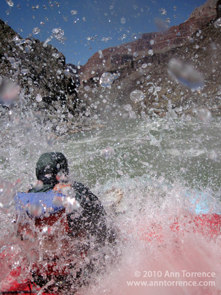 river rafting colorado river rapids splash