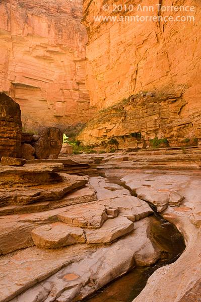 Matkatamiba Canyon, Grand Canyon National Park, side canyon, slot canyon, lower Grand Canyon