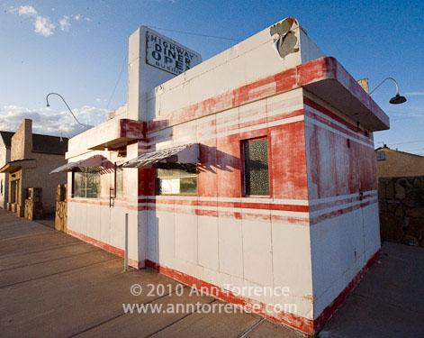 Rte. 66 diner, Winslow, AZ