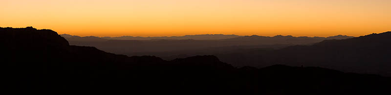 Mt. Lemmon Arizona sunrise