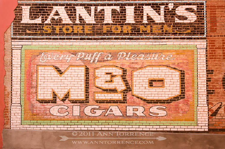 Every Puff a Pleasure Sign in Globe Arizona for Cigars