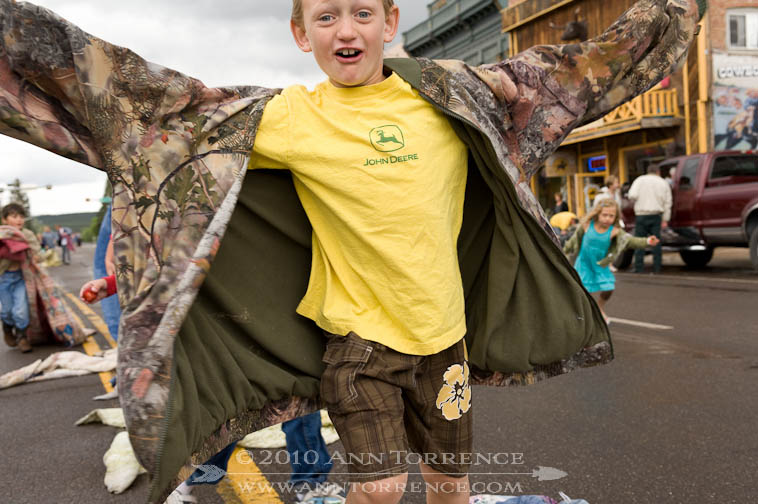 Quilt Walk Race contestant, Panguitch, Utah