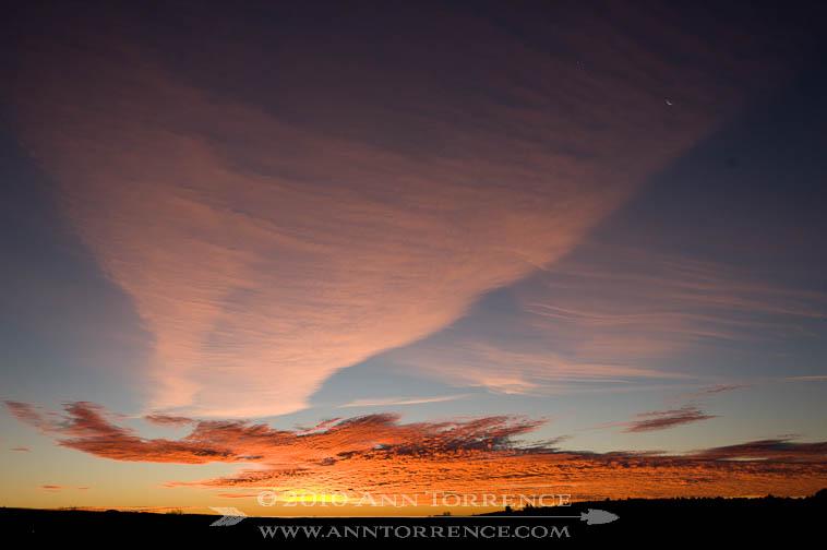 Sunrise over Escalante, Utah