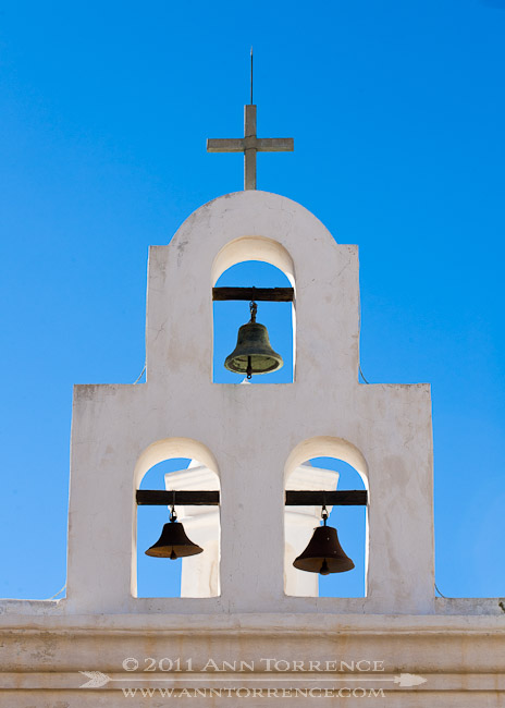 Chapel bells at San Xavier del Bac, Tucson
