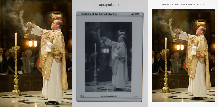 Example of photograph published on Kindle and Kindle for IPad