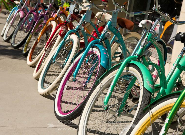 Bicycle rainbow, Logan, Utah