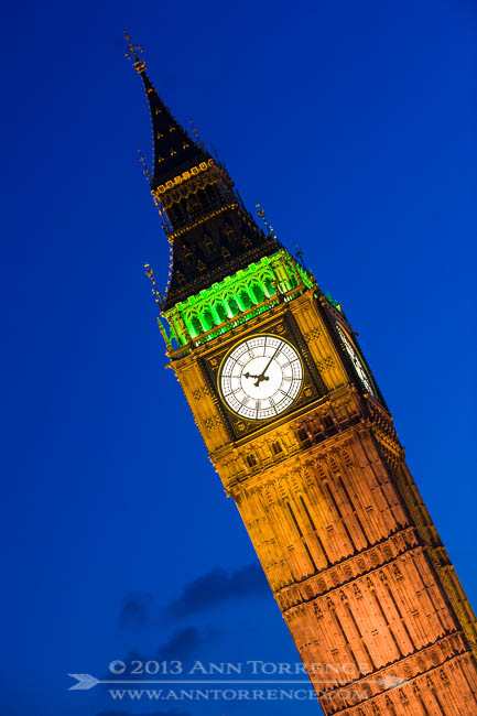 Big Ben clock tower, Parliment Building, London