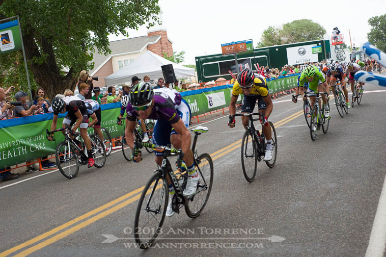 Meters to go for the win in Torrey, Stage 2 of the 2013 Tour of Utah.