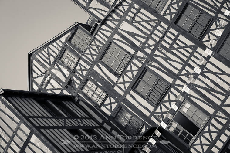 Half-timbered construction, Rouen, France