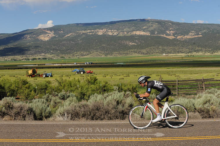 Capitol Reef Classic time trial on Big Rocks Road