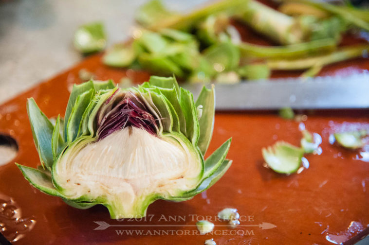 Growing artichokes as an annual crop in the mountains means waiting to enjoy them until the fall.